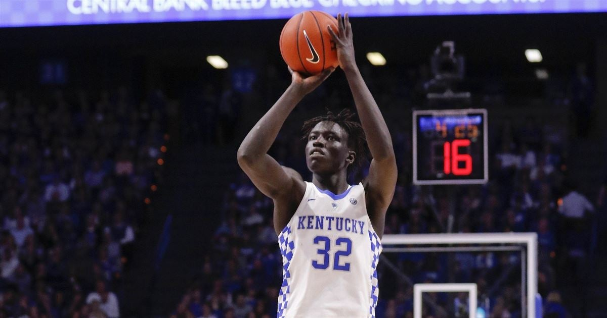 Wenyen Gabriel starting to come on for Kentucky