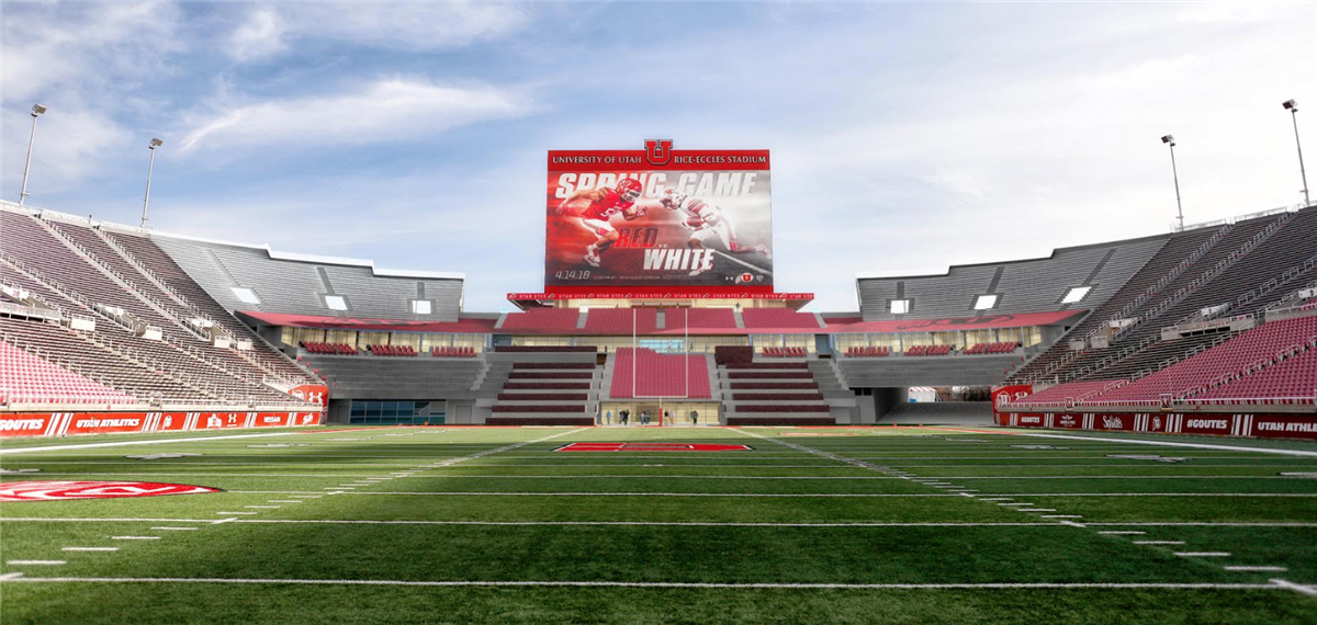First Look  Rice Eccles Stadium Expansion