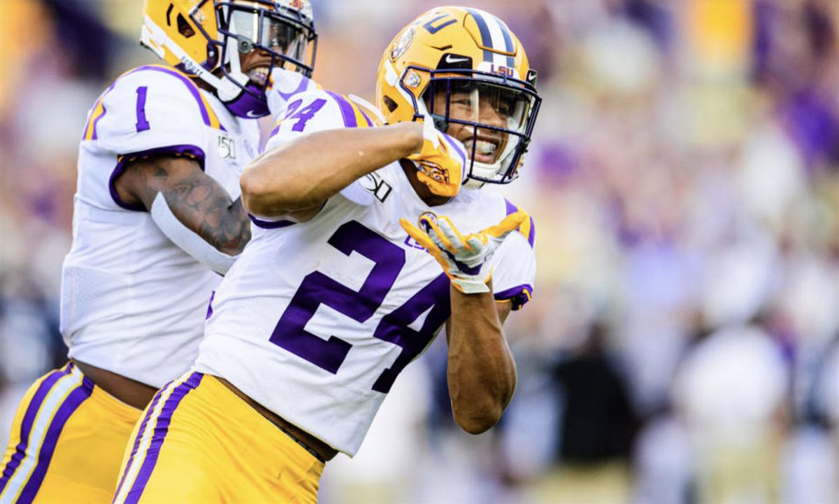 NFL stars impressed with LSU's Derek Stingley