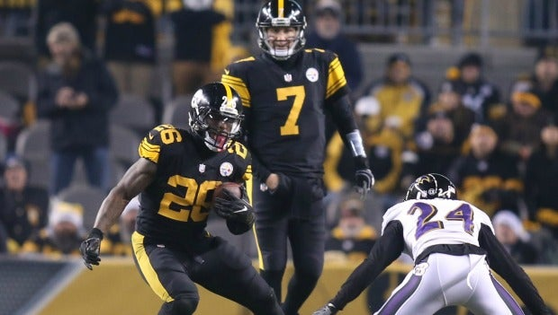 steelers color rush jersey 2016
