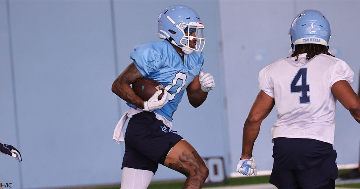 UNC WR Emery Simmons Adding Speed to His Game