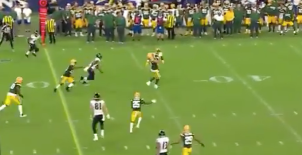 WATCH: Curtis Bolton picks off pass on tipped ball