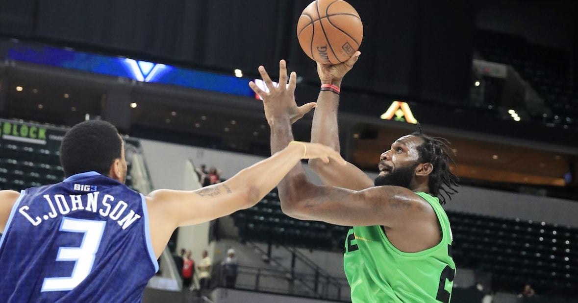 Greg Oden makes BIG3 debut for Aliens in vintage fashion