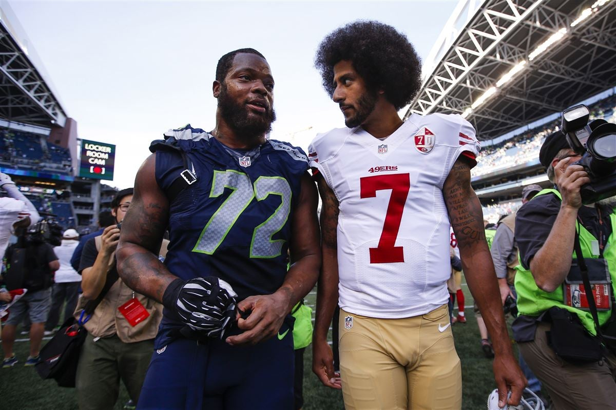 Michael Bennett thinks protest need a white player to join