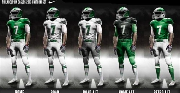Will Nike ever alter Eagles uniforms  71f6fc234