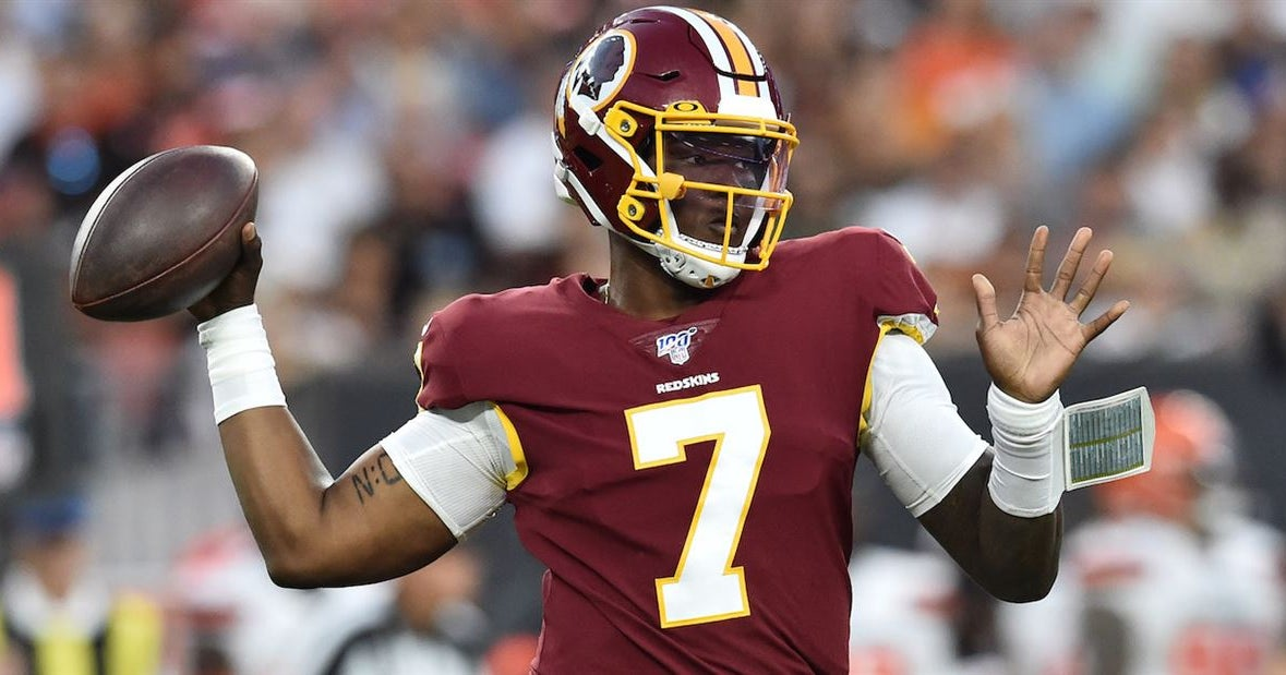 Dwayne Haskins not named the Redskins starting quarterback