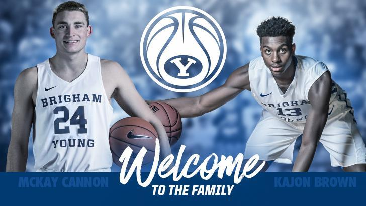 BYU adds Brown & Cannon to hoops roster