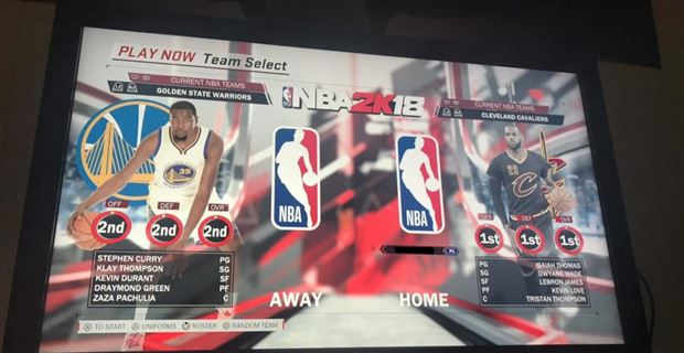 LOOK: Cavs are the top-rated team in NBA 2K18 after Wade signing