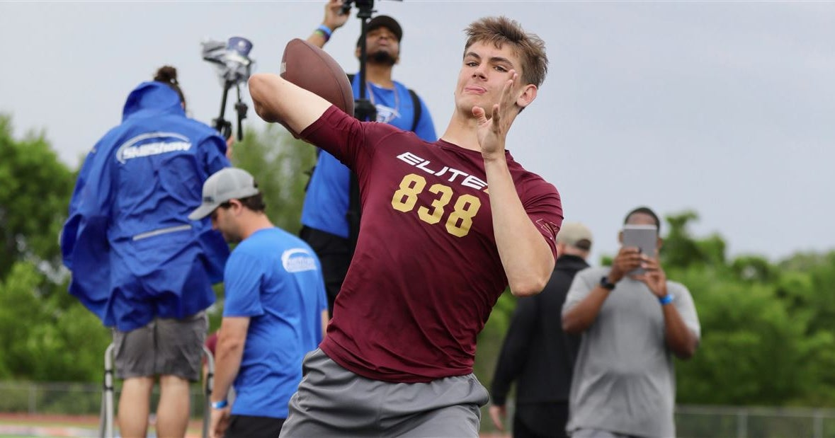 FSU is looking for their 2022 QB and Ty Simpson is a top target