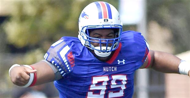 Big JUCO DT Humphrey has top two, wants to play with his brother