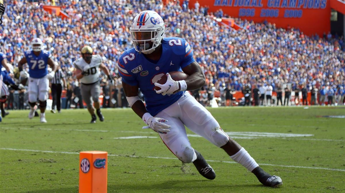 Perine getting it done as a receiver