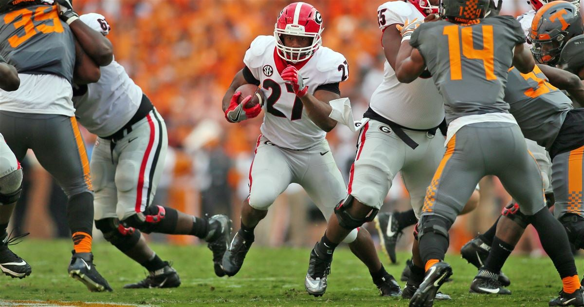 UGA names 4 players of the week for Tennessee