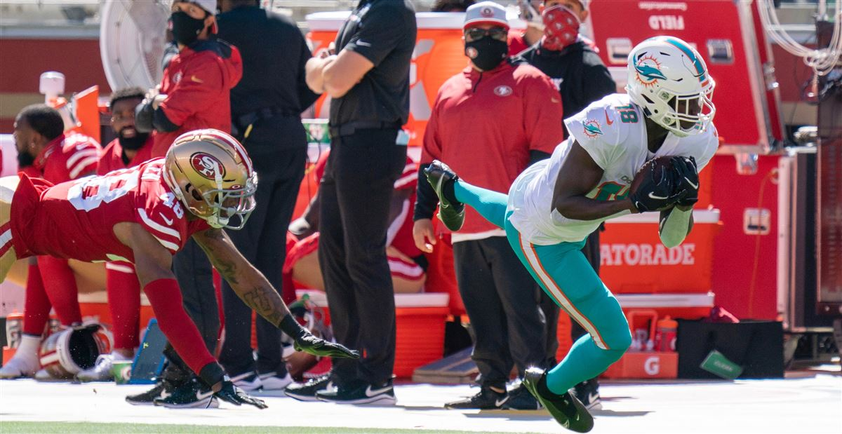 Watch: Preston Williams goes off against 49ers