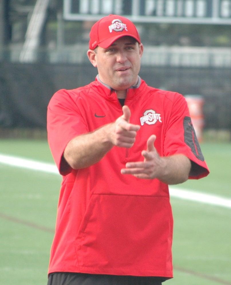 Zach Smith, Wide Receivers Coach (FB), Ohio State Buckeyes