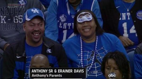 Anthony davis parents