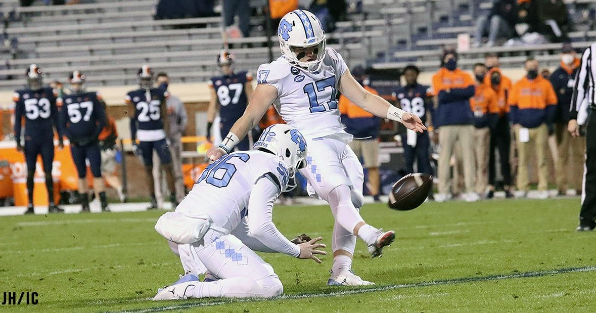 UNC Kicker Grayson Atkins Looks to Build on Strong Finish