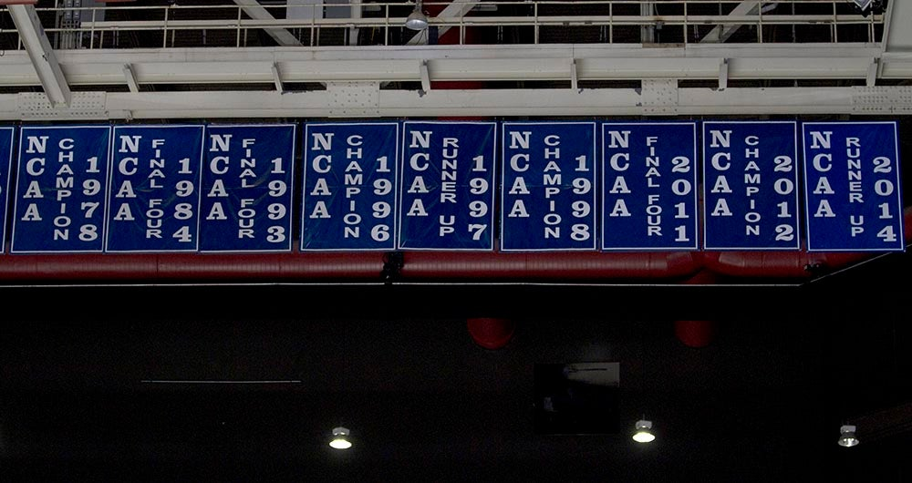 Rupp Arena Rafters Getting Painted Blue: UK Convention In Ohio