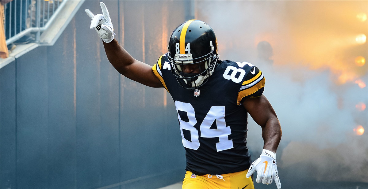 Antonio Brown Steelers >> Report Antonio Brown Has Requested A Trade From Steelers
