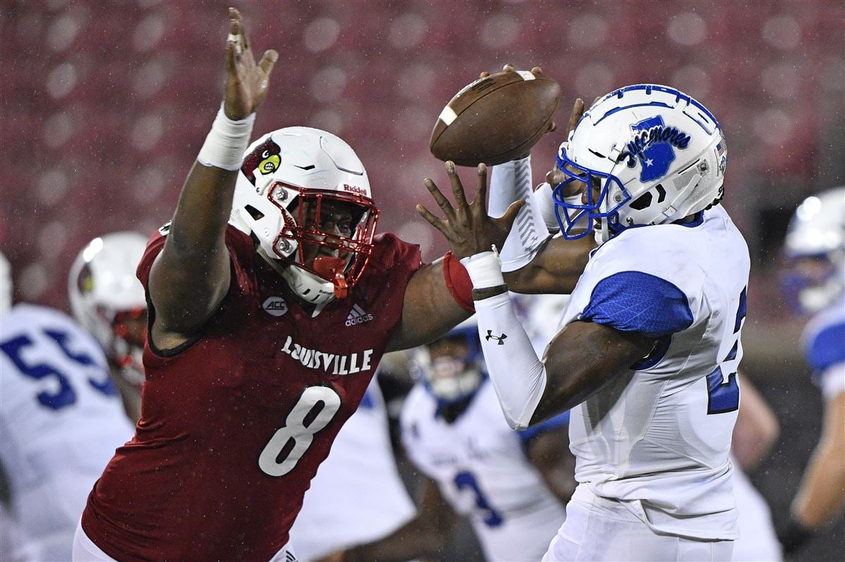Louisville defensive end Jarrett Jackson enters transfer portal