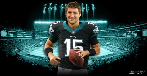 It's officially Tebow Time in Philadelphia