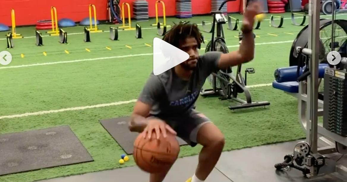 Video: UNC's R.J. Davis Offseason Workouts