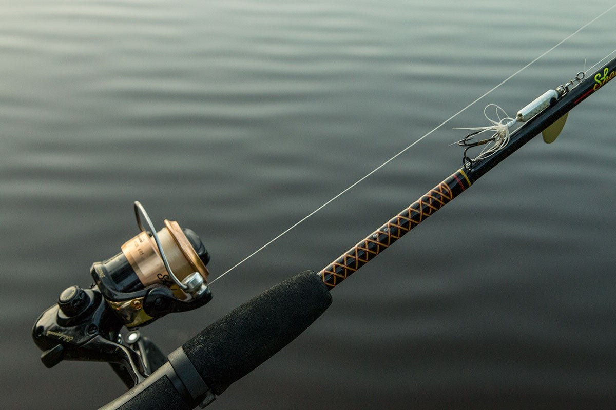 Worden 39 s original rooster tail review for Expensive fishing poles