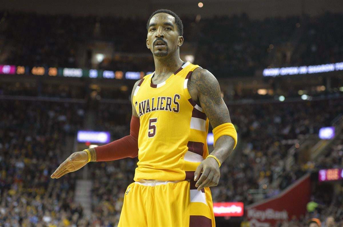 J.R. Smith was upset the Warriors lost before playing Cleveland f5e03538a