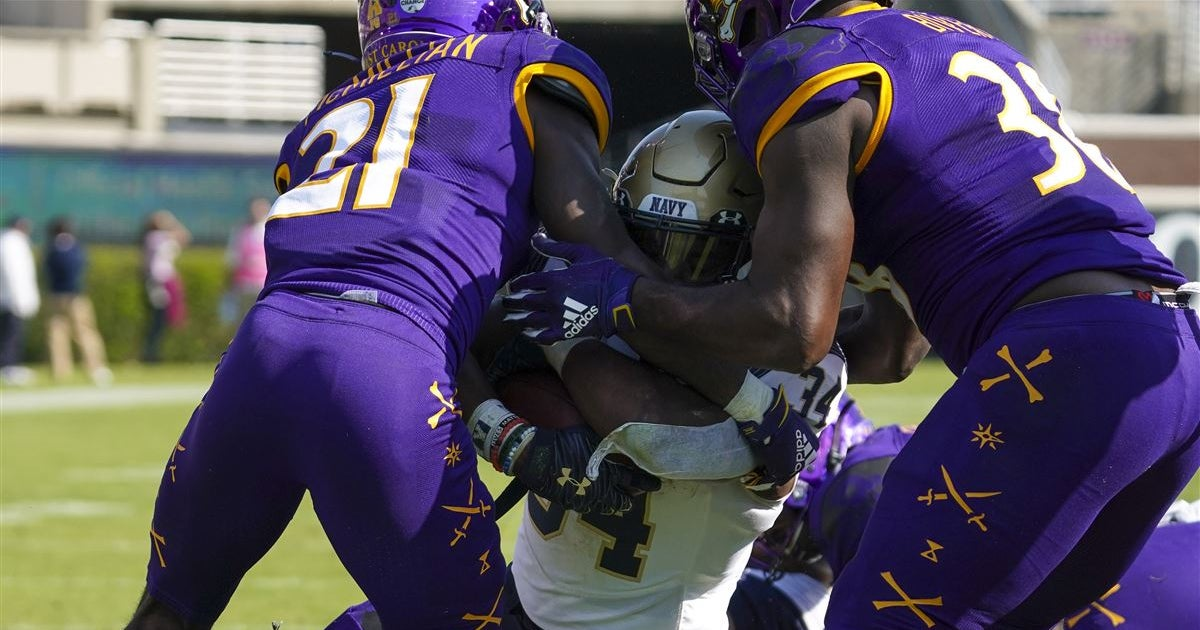 ECU depth chart released for Tulsa game