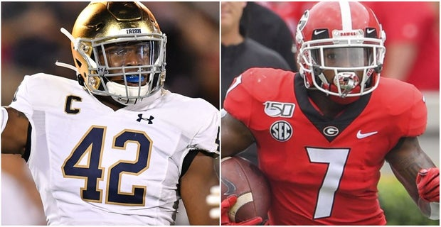 san francisco 5cedd 54b86 Who And What To Watch: Notre Dame At Georgia