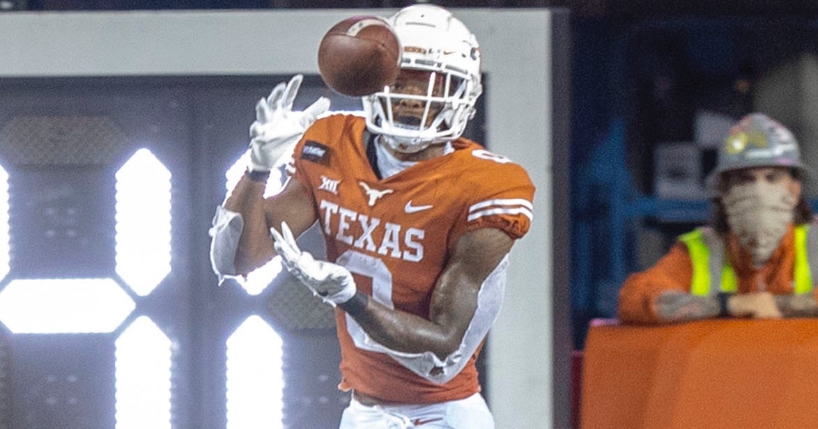 Texas wideouts step up, make huge statement in win over UTEP