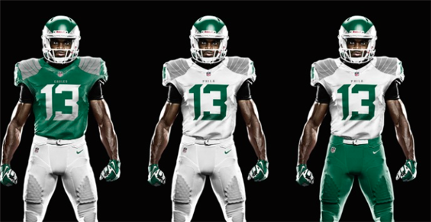 Eagles Uniform History 26