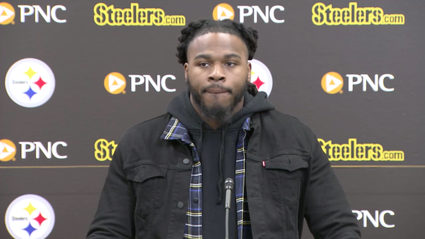brand new 14297 3a535 Mark Barron joined Pittsburgh Steelers for Mike Tomlin