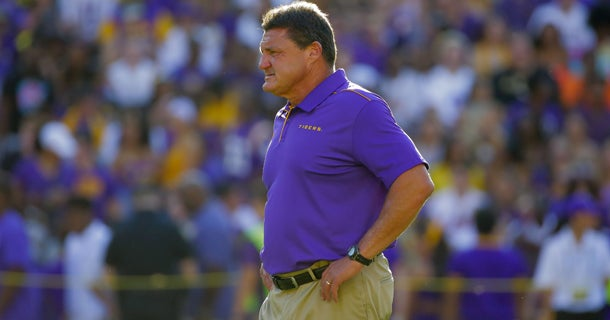 Ed Orgeron named to Dodd Trophy Watch List