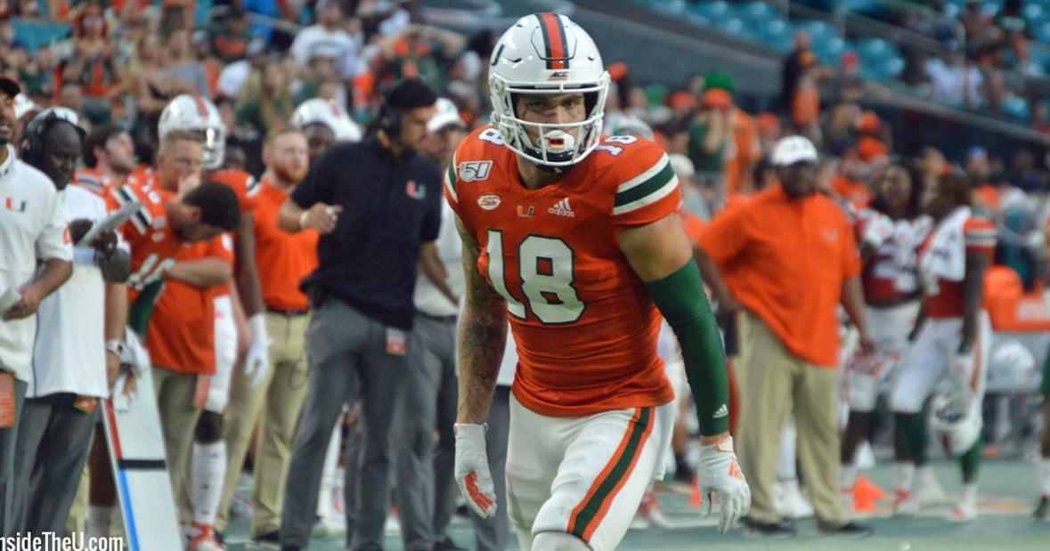 Tate Martell showing encouraging signs switching to receiver
