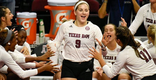 No. 13 A&M volleyball to host first two rounds of NCAA tourney