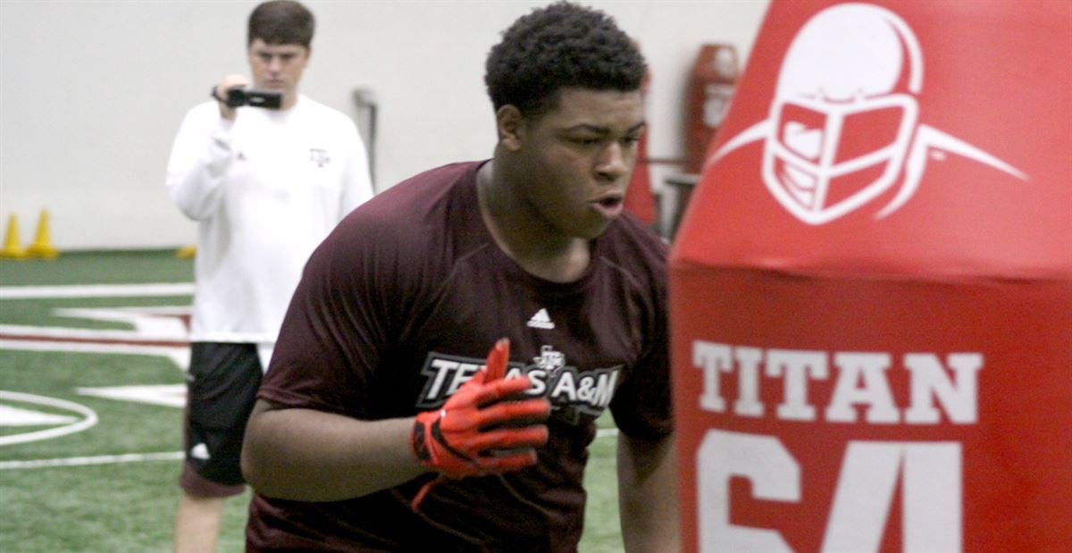 National top 50 prospect Thomas loved working on defense at A&M