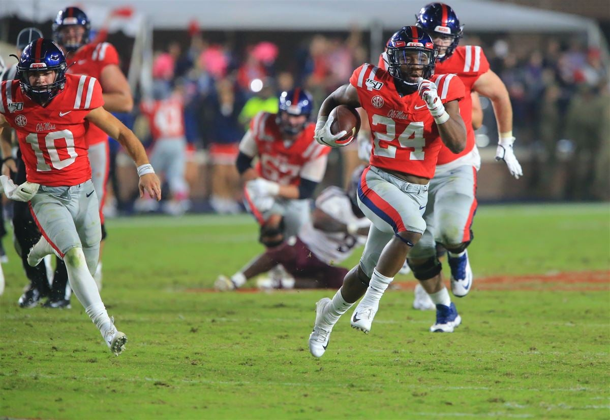 Rebels can run but can't find way to finish in loss to A&M