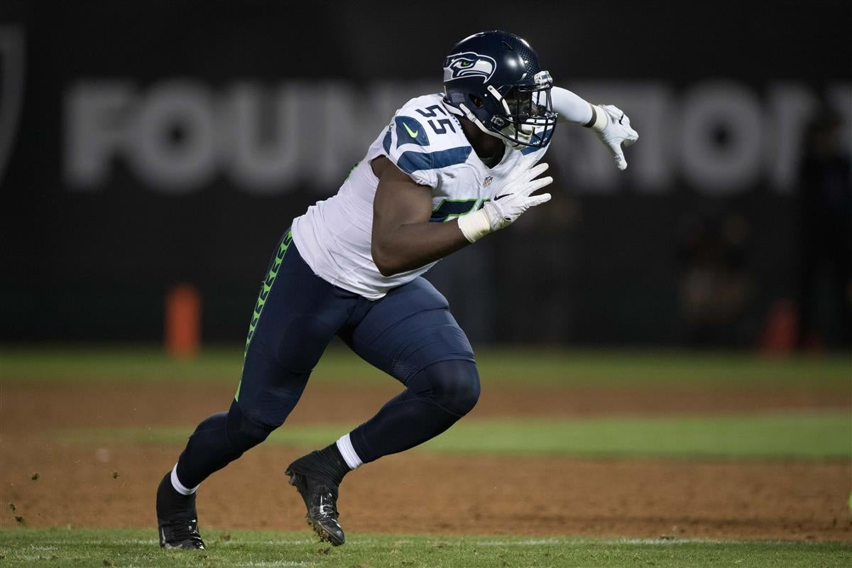 Frank Clark calls out officiating for missed hold calls