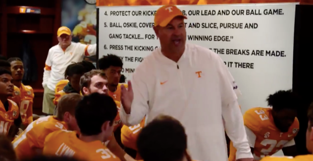 WATCH: Behind-the-scenes look at Vols' win over Bulldogs