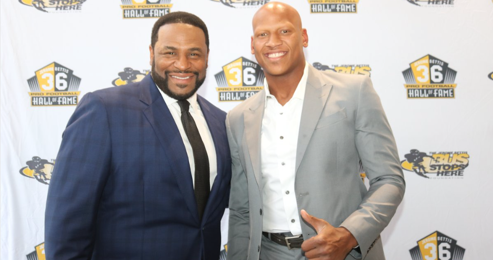 0982cbe6c Ryan Shazier honored at Jerome Bettis  Caring for Kids  dinner