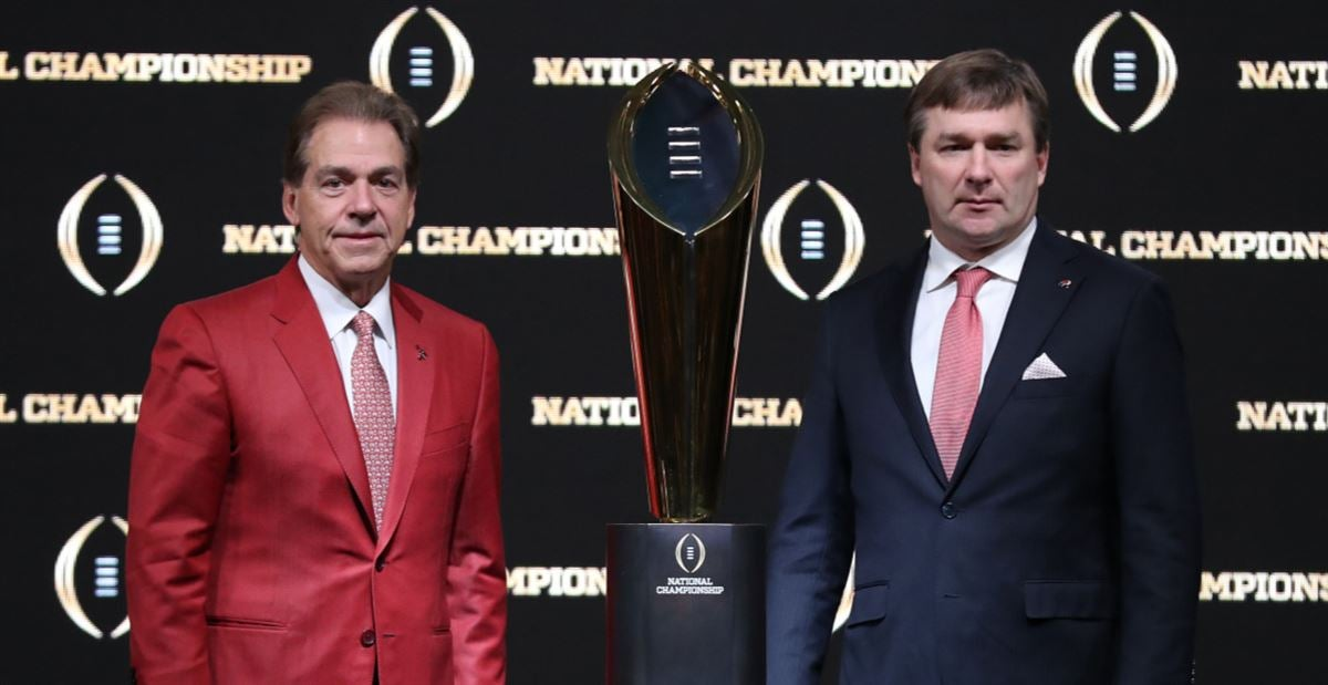 Ranking Georgia's five toughest college football games in 2020