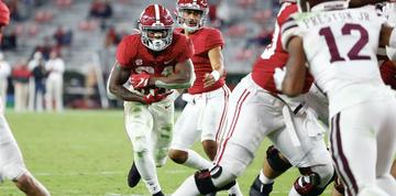 Alabama teammates happy to see Trey Sanders nearing full health
