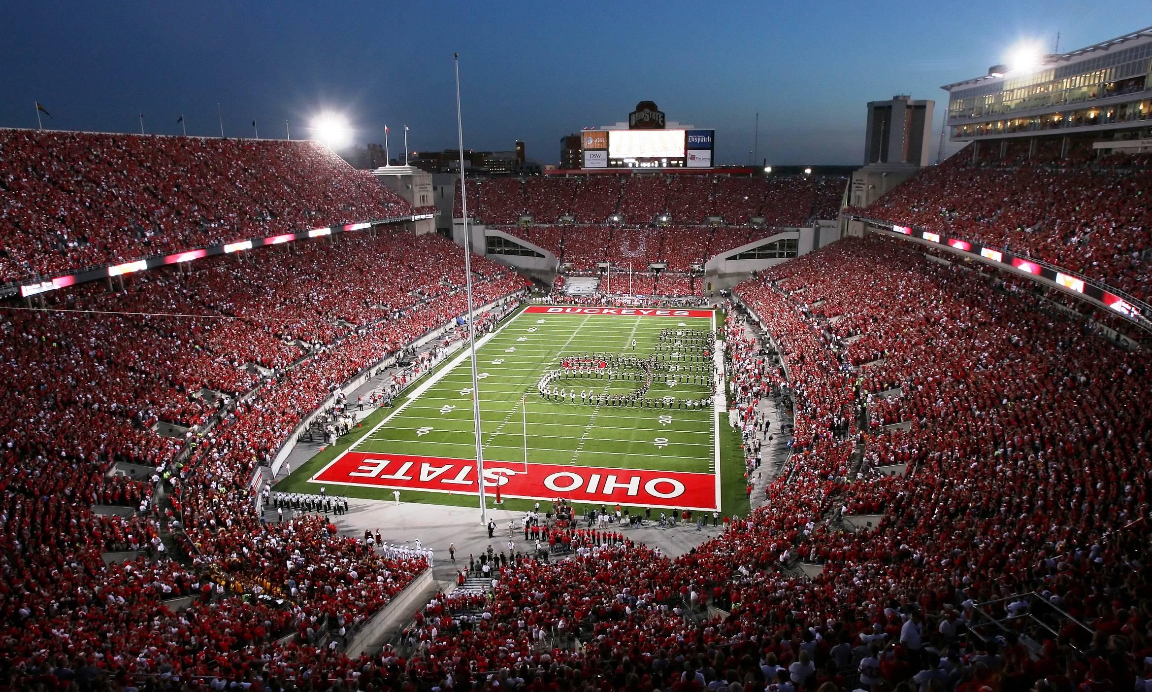 Most intimidating college football stadiums