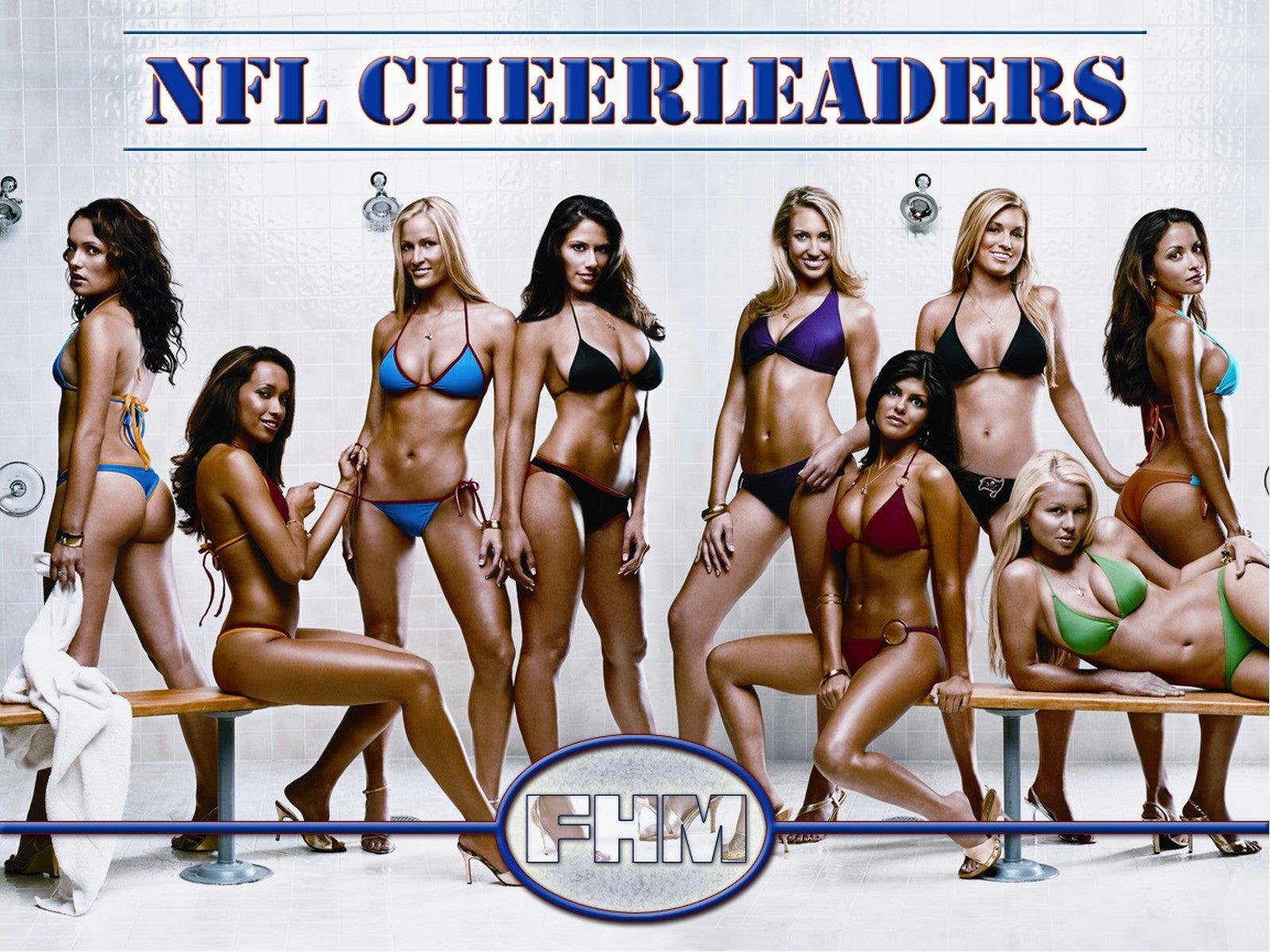 nfl cheerleaders bikini
