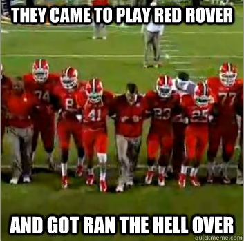 Why Is Clemson Trying to Play Red Rover?!