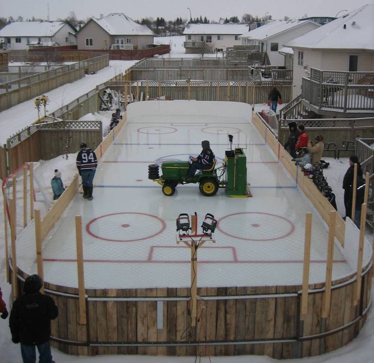 pulling69 45739 posts - Backyard Ice Rink. Anyone With Experience.