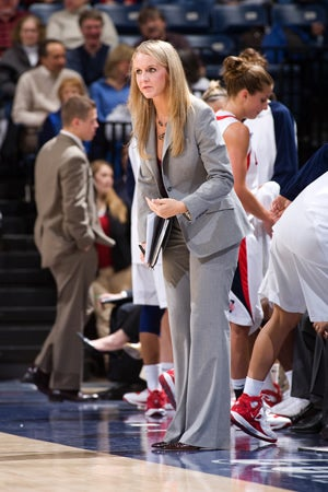 UConn women's basketball assistant Shea Ralph, of Fayetteville, is ...