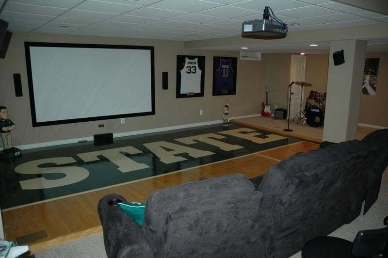 Decorating Ideas > Gallery For > Cool Sports Basements ~ 060606_Sports Basement Decorating Ideas
