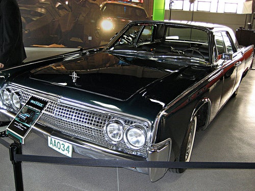 The Car Used In Matrix Is A Black 1965 Lincoln Continental