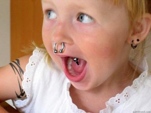 Image Result For Piercing Baby S Ears